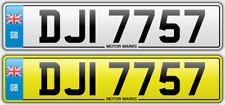 DJI 7757-DJI Dj Di David Daniel Donna Diana Derek Douglas privado número de matrícula
