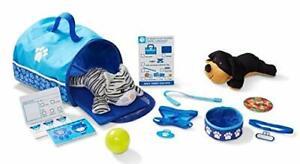 Melissa & Doug 15 Teile Haustier Reise Spielzeug Spielset Mit Plüsch Hund &