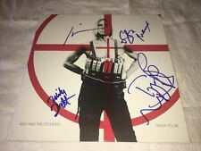 Iggy Pop SIGNED Ready To Die X4 LP Album The Stooges PROOF