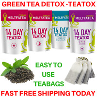 GREEN TEA DETOX TEATOX (X50 SKINNY TEA ME) WEIGHT LOSS FAT BURNER - 4 x PACKS AU