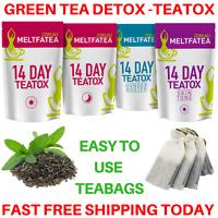 GREEN TEA DETOX TEATOX (X50 SKINNY TEA ME) WEIGHT LOSS FAT BURNER - 4 x PACKS AU