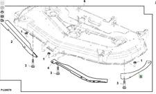 More details for genuine john deere deflector am143961 54c deck see picture