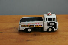#Antique Tin Toy# BAndai JEEP Japanese Japan PoliceTruck EMergency Department