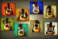 MODERN ART - ORIGINAL ART Set of EIGHT Paintings FINE ART by SLAZO