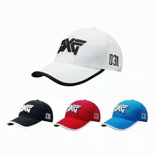 Golf Baseball Cap PXG 0311 Adjustable Summer Casual Hat  Black/White New