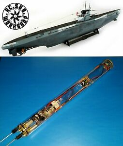 RC Sub Revell 1/72 Uboat Submarine Use ( RTR WTC + propeller + shaft + rudder )