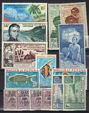 WALLIS & FUTUNA COLLECTION  / LOT OF 8 COMPLETE MINT SETS