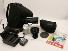 SONY alpha NEX-F3 FULL HD Digital Camera + 35mm F1.6 PRIME LENS + TRIPOD & EXTRA