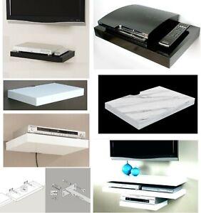 Floating Shelves Shelf For Media DVD SKY BOX  Xbox Wall Mounted Display Shelf