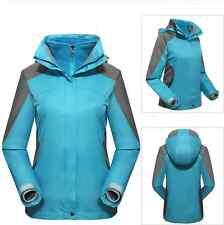 Women Lady 10kmm Blue Ski Snow Snowboard Winter Waterproof  Jacket 6 8 10 12 14