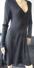 Merino Wool Long Sleeve Casual Dresses for Women