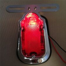 Brake Tail Light Signal For H-D Davidson Bike Motorcycle CHROME Red Tombstone