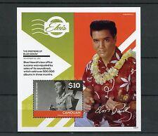 Canouan Gren St Vincent 2014 MNH Elvis Presley Blue Hawaii 1v S/S II Stamps