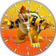 Super Mario Bowser Frameless Borderless Wall Clock Nice Gifts or Decor Z151
