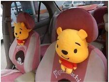 New Winnie the Pooh Doll Car Cushion Pillows Pair