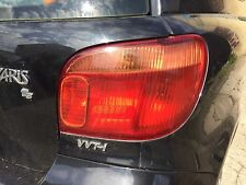 Toyota Yaris Rear Tail Light Lamp Unit Drivers Side right 2003 2004 2005