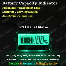 Lead Acid Lithium Li-ion Battery BMS Capacity Level Indicator LCD Tester Meter
