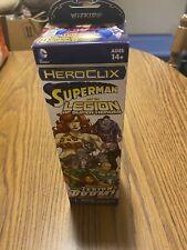 DC Heroclix * Superman & The Legion Of Doom * Sealed Booster * Wizkids 2014