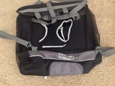 Outward Hound Pet Travel Gear Small Dogs Puppies Black Carrier