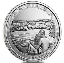 10 Oncia Canada The Great Niagarafälle Niagarafall 10 999 Argento Moneta