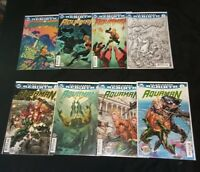 Aquaman Rebirth DC Comic Run/Lot