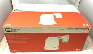 Commercial Electric 6 in Recessed downlight IC Remodel Air tight Housing 6Pack N