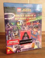 LEGO DC COMICS SUPER HEROES MOVIES JUSTICE LEAGUE Vs BIZARRO LEAGUE +MINI FIGURE