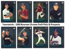 Carte collezionabili baseball Bowman Chrome