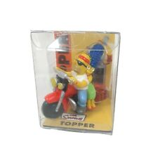 2003 The Simpsons Antenna Topper l Homer Marge on Motorcycle