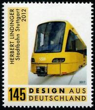 Train Light Rail Stuttgart mnh stamp 2017 Germany