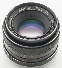 Yashica Lens ML 50 mm 50mm 1.7 1:1.7 - Contax analog