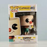 Funko POP! Games: Cuphead - Cuppet #413 Vinyl Figure with POP Box Protector