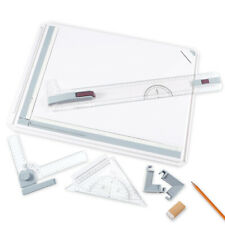 A3 Drawing Board Table Multi Function Magnetic Clamping Bar Angle Rulers