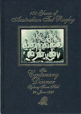 AUSTRALIA - 100 Years of Australian Test Rugby published by ARFU RUGBY BOOK