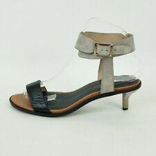 Kurt Geiger KG Ladies Suede Leather Kitten Heel Ankle Strap Sandals UK 6