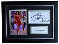 Shirley Ballas Signed A4 Framed Autograph Photo Display Strictly Come Dancing