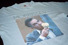 Morrissey T-Shirt TShirt Yummy Ice Cream Pop Rock Band Tour 2006 Baby Blue L