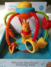 Disney Baby Winnie the Pooh Activity Ball Child Infant Toy NEW