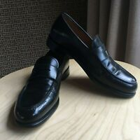 SALVATORE FERRAGAMO MENS LOAFERS SIZE 7.5 MADE IN ITALY EXCELLENT CONDITION