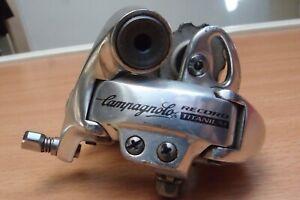 Dérailleur Campagnolo record titanium 8 vitesses velo de course ergopower