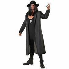 Licenced WWE The Undertaker Wrestler Fancy Dress Costume + Hat Adult Wrestling
