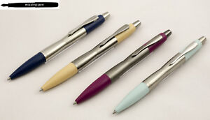 Heavy Parker Dimonite Carbon Ballpoint Pen (push mechanism) - different colours