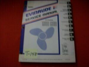 VINTAGE 1980 EVINRUDE OUTBOARD SERVICE MANUAL 150 175 200 235 HP V-6 MODELS