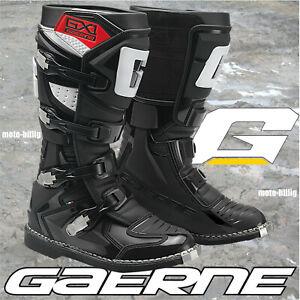 GAERNE Crossstiefel GX-1 Offroadstiefel MX Cross Offroad Motocross Stiefel black