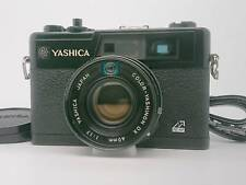 [EXC++++] Yashica Electro 35 GX Rangefinder Camera Black w/strap Lens from jp