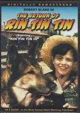 THE RETURN OF RIN TIN TIN (DVD, 2004, Slim Case, Robert Blake) - NEW