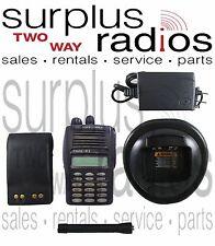 Motorola EX600XLS UHF 400-470MHZ 160CH  4W Trunking Ham Radio AAH38RDH9DU6AN