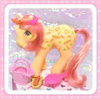 ❤️My Little Pony MLP G1 Vtg TAF Twice as Fancy MUNCHY Hot Dog Hamburger RARE❤️