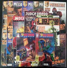 JUDGE DREDD MEGAZINE Monthly #48-57 10 in sequence~JUDGE DREDD CLASSICS & EXTRAS