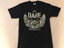 Dare To Resist Drugs And Violence T-Shirt Size Small